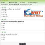 Thiết Kế Website Thi Trắc Nghiệm Online