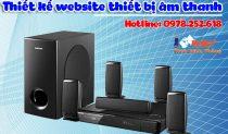Thiết Kế Website Thiết Bị âm Thanh