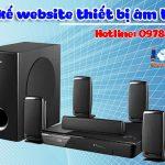 Thiết Kế Website Bán Thiết Bị âm Thanh Dễ Lên TOP Nhất.