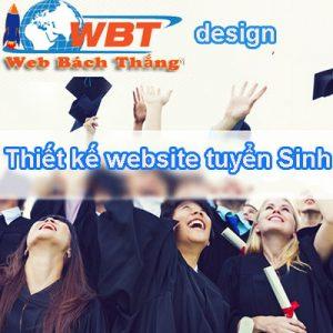 Thiết Kế Website Trung Tâm Tuyển Sinh Trực Tuyến