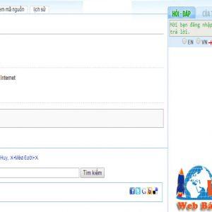 Thiết Kế Website Từ điển Online