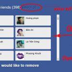 Hướng Dẫn Cách Xóa Bạn Bè Trên Facebook Hàng Loạt Trong 1 Nốt Nhạc