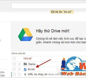 Cách Tải Tệp Tin Trên Google Drive