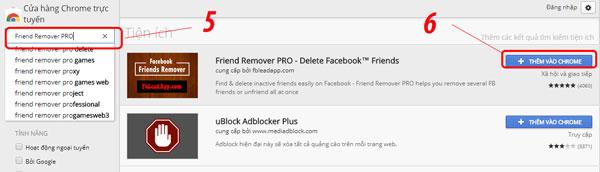 Cách xóa bạn bè trên facebook