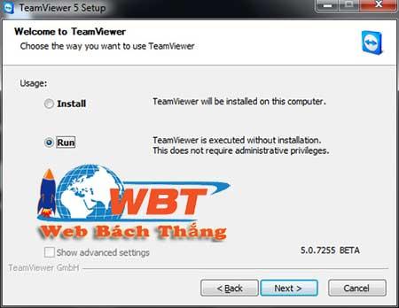 Hướng dẫn cách sử dụng teamviewer