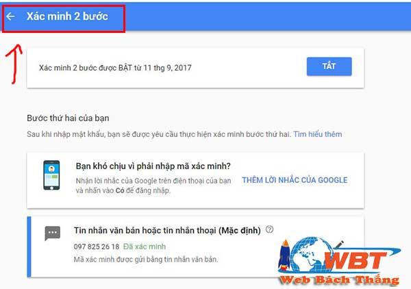 Hướng dẫn cấu hình SMTP của gmail cho website wordpress 4