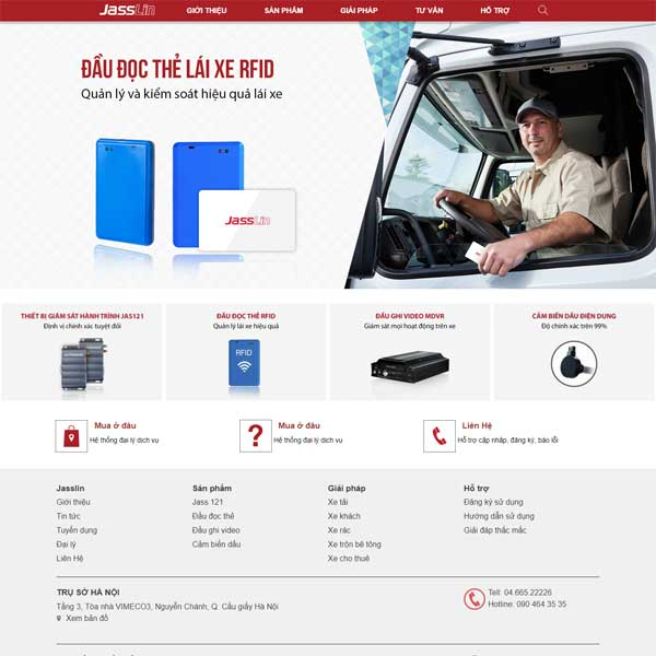 Mẫu Website Giới Thiệu Về Sản Phẩm định Vị ô Tô WBT173