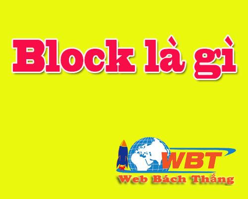 Facebook Block là gì