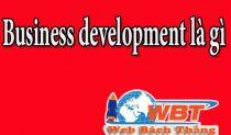Business Development Là Gì