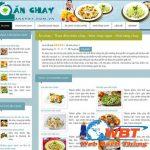 Thiết kế website bán đồ ăn chay- giải pháp kinh doanh hiệu quả
