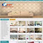 Thiết kế website bán giấy dán tường giá rẻ chuyên nghiệp