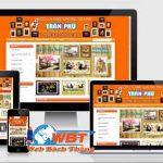 Thiết kế website bán khung tranh đẹp giá rẻ đẳng cấp nhất