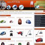 Thiết kế website bán máy hút bụi uy tín chuyên nghiệp