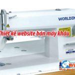 Thiết kế website bán máy may- máy khâu chuyên nghiệp giá rẻ