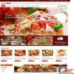 Thiết Kế Website Bán Bánh Pizza Giá Rẻ, Bảo Hành Web Trọn đời