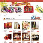 Thiết Kế Website Bán Quà Tết Bánh Kẹo- Mứt Tết Nhanh Giá Rẻ