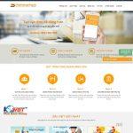 Thiết kế website vận chuyển – logistics – order hàng hóa
