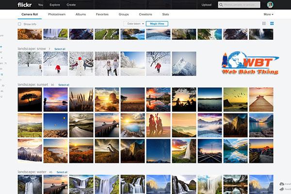 flickr là gì