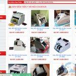 Thiết Kế Website Bán Máy Đếm Tiền
