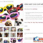 Thiết Kế Website Bán Phụ Kiện Thú Cưng – đồ ăn Chó Mèo Cho Pet