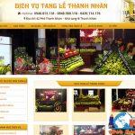 Thiết Kế Website Dịch Vụ Tang Lễ – Dịch Vụ Hỏa Táng Chuyên Nghiệp