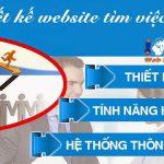 Thiết Kế Website Tìm Việc Làm