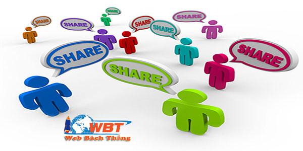 Tác dụng của share