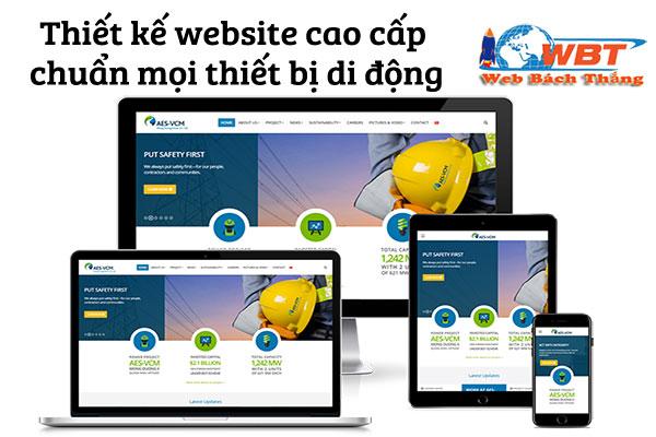 Tạo dựng website cao cấp hiển thị tốt trên mọi màn hình