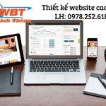 Thiết kế website cao cấp cho doanh nghiệp chất lượng hàng đầu