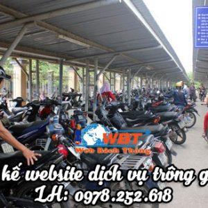 Thiết Kế Website Dịch Vụ Trông Giữ Xe