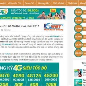 Thiết Kế Website Giới Thiệu Dịch Vụ Mobile