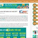Thiết Kế Website Giới Thiệu Dịch Vụ Mobile- Mạng Di Động