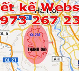 Thiết Kế Website Tại Huyện Thanh Oai - Hà Nội Uy Tín Nhất