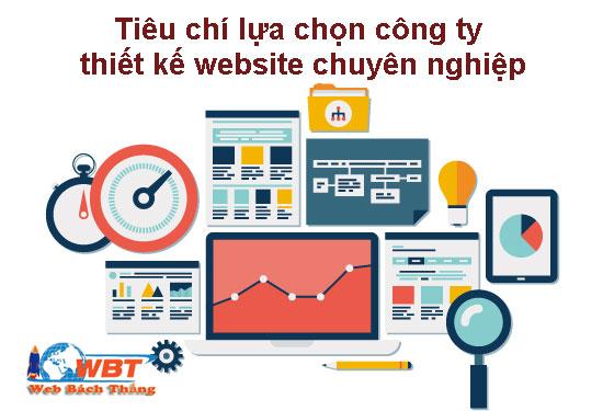 Tiêu chí lựa chọn công ty thiết kế website chuyên nghiệp