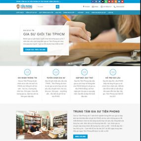 Mẫu Website Trung Tâm Gia Sư WBT1277
