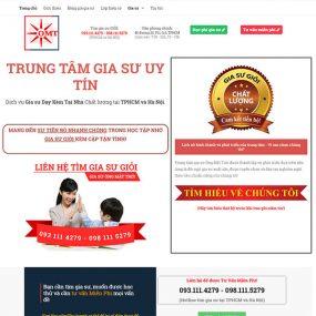 Mẫu Website Trung Tâm Gia Sư WBT1278