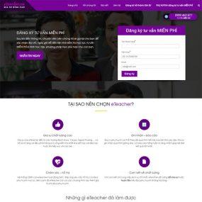 Mẫu Website Trung Tâm Gia Sư WBT1282