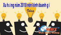 Năm 2018 Kinh Doanh Gì