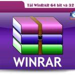 Tải WinRAR 64 bit và 32 bit mới nhất về máy tính đơn giản nhất