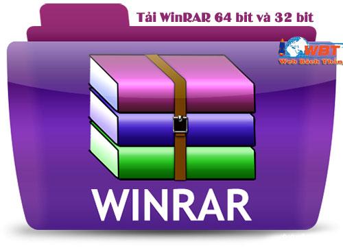 Tải WinRAR 64 bit và 32 bit mới nhất