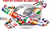 Thiết Kế Website đa Ngôn Ngữ