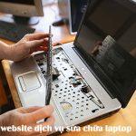 Thiết Kế Website Dịch Vụ Sửa Chữa Laptop