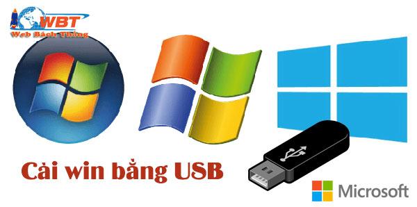 Cách cài win bằng USB