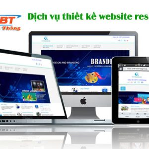 Dịch Vụ Thiết Kế Website Responsive