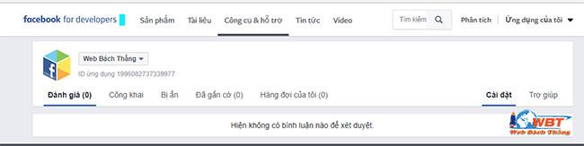 Cách chèn bình luận facebook vào website