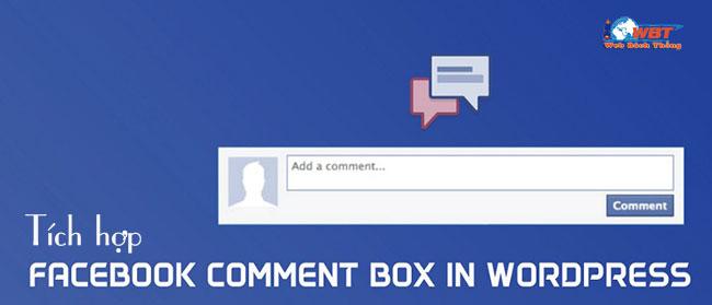 Tích hợp comment facebook vào website wordpress bằng plugin