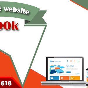 Thiết Kế Website 1500k Chuẩn SEO Chuẩn Di động đầy đủ Chức Năng.
