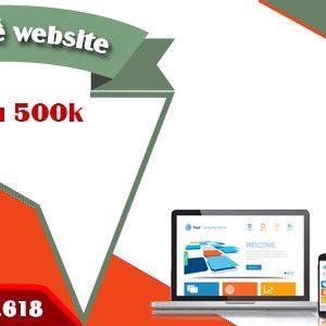 Thiết Kế Website 2,5 Triệu