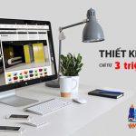 Thiết kế website 3 triệu chất lượng chuẩn SEO uy tín nhanh chóng