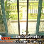 Thiết kế website cửa lưới chống muỗi chuyên nghiệp giá tốt